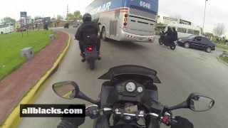 Ride along with Argentina's Special Armed Motorcycle Police