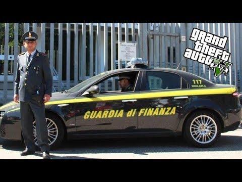 GTA5 LSPDFR GUARDIA FINANZA 117 #03 controllo al porto camion sospetti  sul server fivem pc