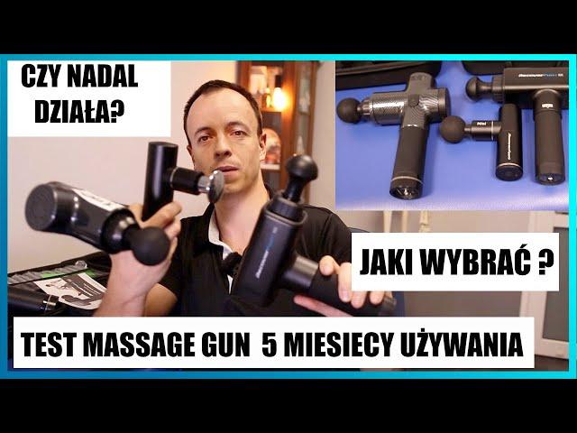 Jaki pistolet do masażu wybrać? Czy nadal działa Massage Gun po 5 🔥 miesiącach? Czy warto kupić?