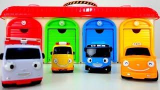 Мультики про машинки: Автобус Тайо и Машинки - помощники! Скорая помощь, Такси, Эвакуатор