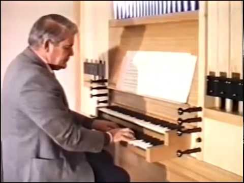 Constructing the studio practice organ - Newcastle Conservatorium - July 1988