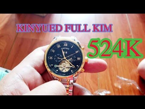 Đồng Hồ Cơ Lộ Máy Kinyued 524k Quá Ngon Và Quá Rẻ Chạy Full Kim Luôn