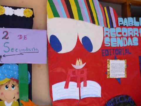 Piebc pablo ap stol peri dico mural octubre 2008 youtube for Amenidades para periodico mural