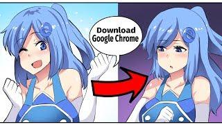 THE NEW TRAGIC GIJINKA INTERNET EXPLORER CHAN SWEEPING THE INTERNET