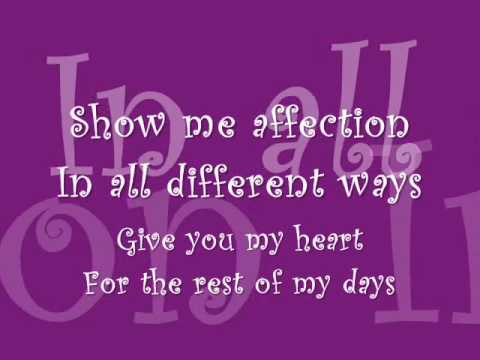 forever in love by a1 with lyrics.wmv