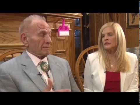 Kimberly Meredith & Dr. C. Norm Shealy, two great American Healers