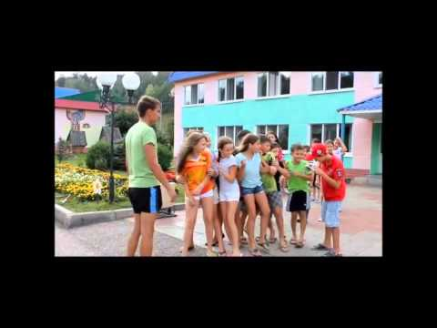 """Отрядное видео 5 отряда,детский лагерь """"Ландыш"""""""