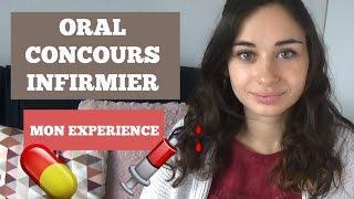► ORAL CONCOURS INFIRMIER -  Mon expérience !