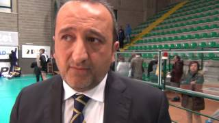 12-03-2017: #A2MVolley - Vincenzo Fanizza nel post Materdomini - Club Italia 3-1
