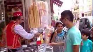 Приколы - позитивный продавец мороженого