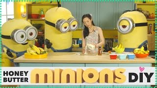 How To Make Honey Butter (ft. Minions) Diy // Angel Wong's Kitchen