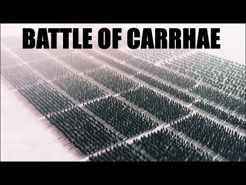 BATTLE OF CARRHAE l 53 BC Roman-Parthian Wars l Crassus' Death l Total War Attila Cinematic Movie
