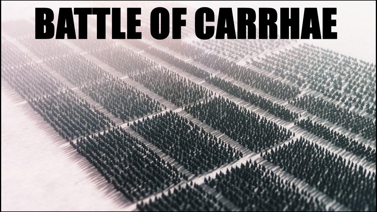 Download BATTLE OF CARRHAE l 53 BC Roman-Parthian Wars l Crassus' Death l Total War Attila Cinematic Movie