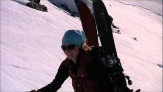 Splitboard TV Fissile Peak NW Face 2010 Whistler Backcountry