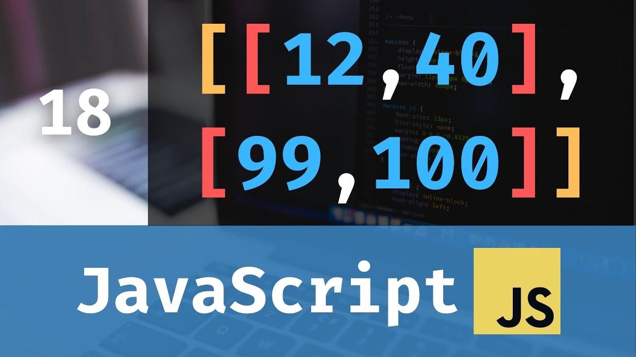 JavaScript for Beginners: Multidimensional Arrays +