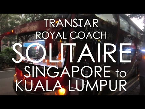 Transtar First Class Solitaire Singapore to Kuala Lumpur
