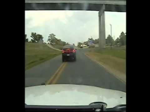 High-speed chase then
