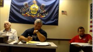 KIMMEL TOWNSHIP AUGUST 2014 MEETING
