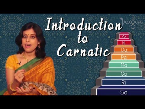 Introduction to Carnatic Music | VoxGuru