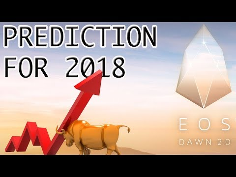 Why EOS is a GOOD BUY and Price Prediction for 2018 ( moon in 5 yr )
