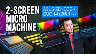 ASUS ZenBook Duo 2021 Review: Twice The Screens For Half The Price