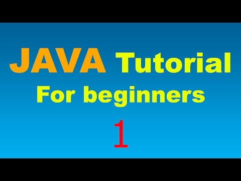 java-tutorial-for-beginners---1---your-first-java-program