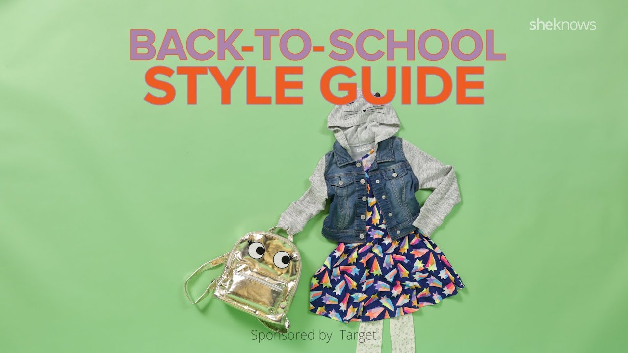 Back To School Style Guide Youtube