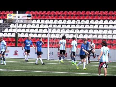 """Art-football"" 03.06.2016 – Argentina - Estonia 2:2 (3:4 pen) | Аргентина - Эстония 2:2 (3:4 пен.)"