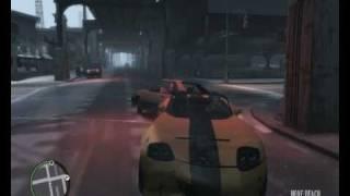 GTA IV Gameplay +  some stunts
