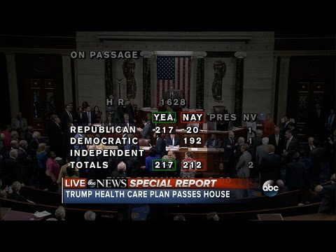 House passes Obamacare replacement bill | ABC News