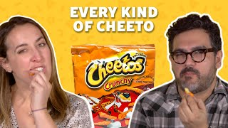 We Tried Every Kind of Cheeto | TASTE TEST
