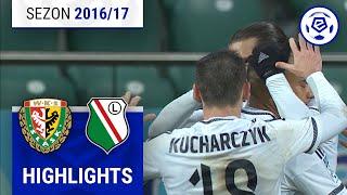 Śląsk Wrocław - Legia Warszawa 0:4 [skrót] sezon 2016/17 kolejka 17