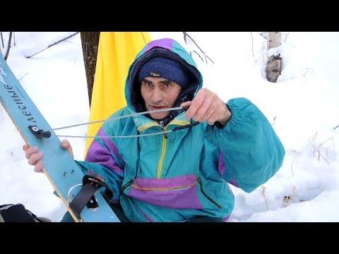 Самые простые крепления для лыж.
