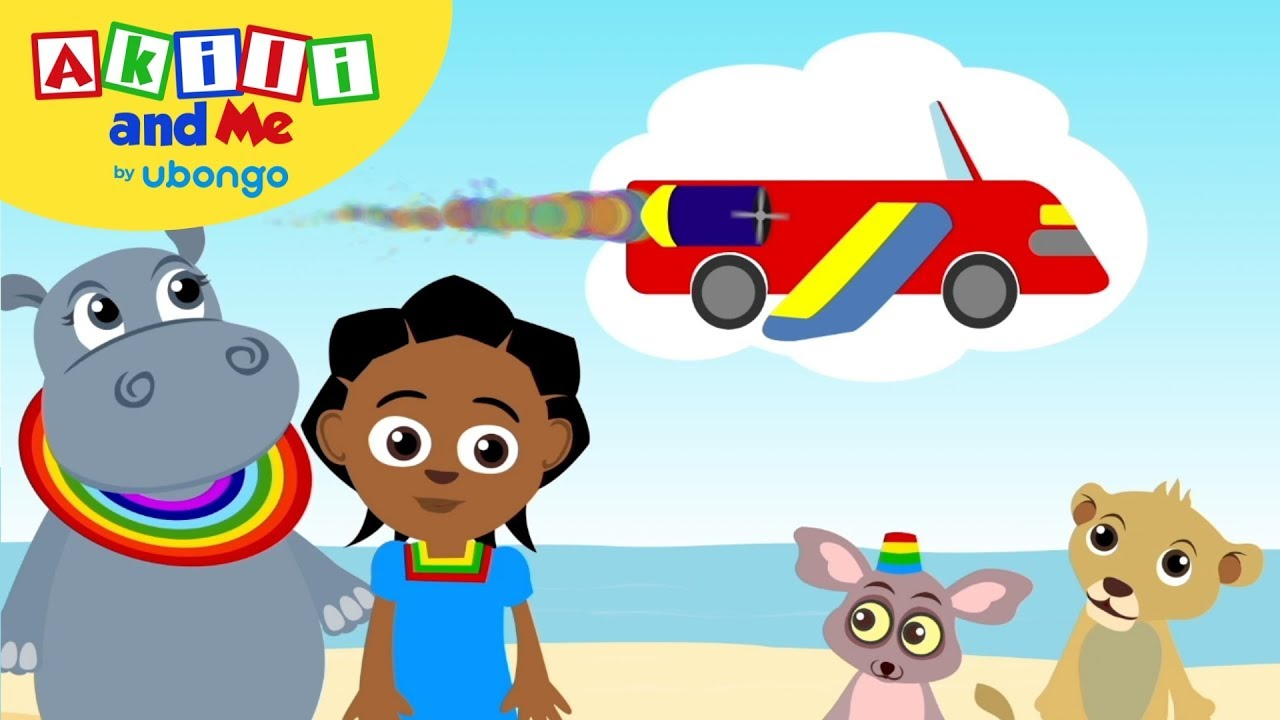 Akili And Me On Sabc2 Africa S Favourite Preschool Cartoon Launches In South Africa Youtube