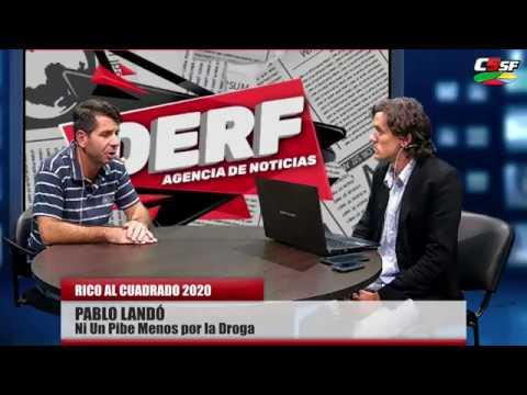 Pablo Landó: En Santa Fe no se habla de lavado de dinero