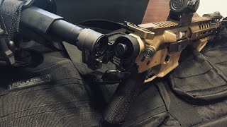 Law tactical folding stock install