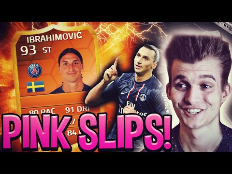 FIFA 14 | INSANE MOTM IBRAHIMOVIC PINK SLIPS!