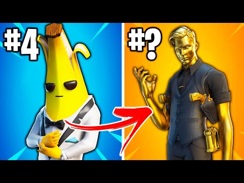 RANKING ALL FORTNITE SEASON 2 SKINS FROM WORST TO BEST!