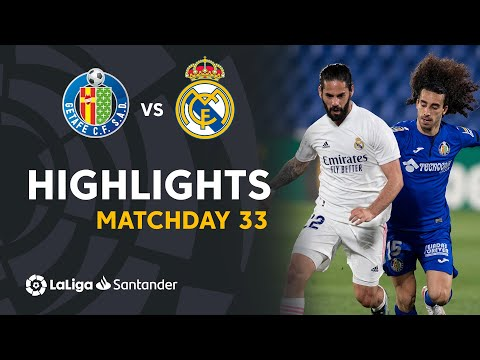 Getafe Real Madrid Goals And Highlights