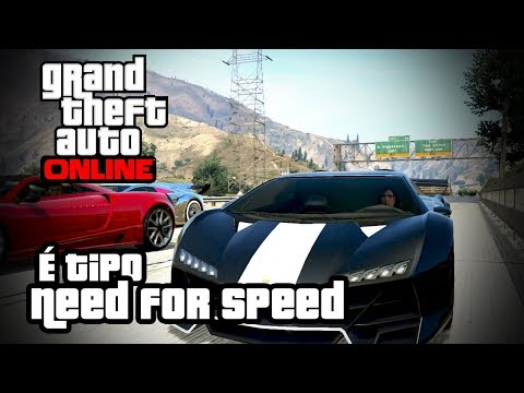 GTA Online É tipo Need for Speed