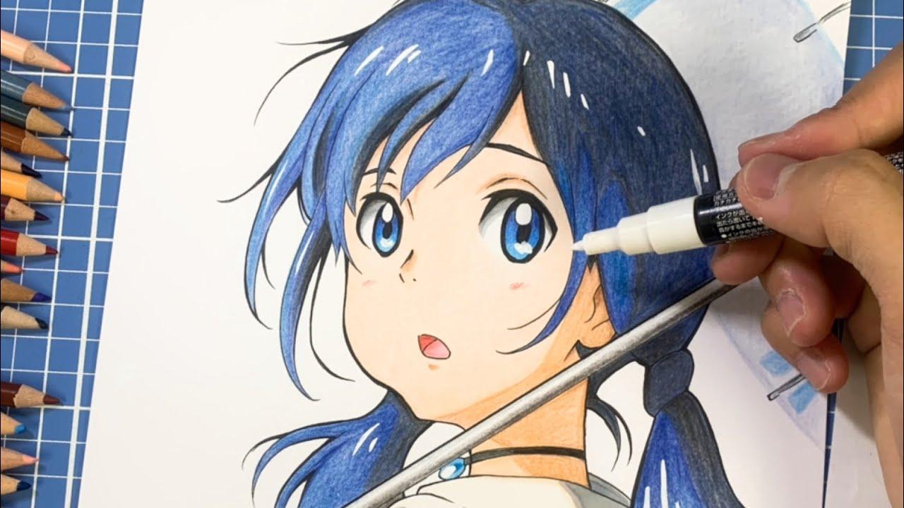 【天気の子】天野陽菜 描いてみた!Drawing Amano Hina【Weathering With You 】