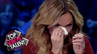 HEART WRENCHING EMOTIONAL DANCE AUDITION Leaves EVERYONE Crying!
