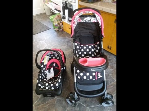 Cosco Disney Baby Lift and Stroll Plus Travel System.
