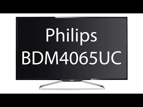 Philips BDM4065UC Review - TFTCentral