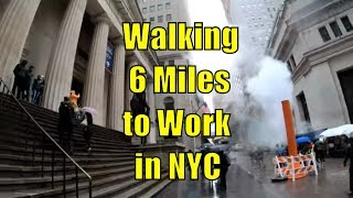 Walking 6 Miles to Work in NYC from the Upper East Side to Wall Street