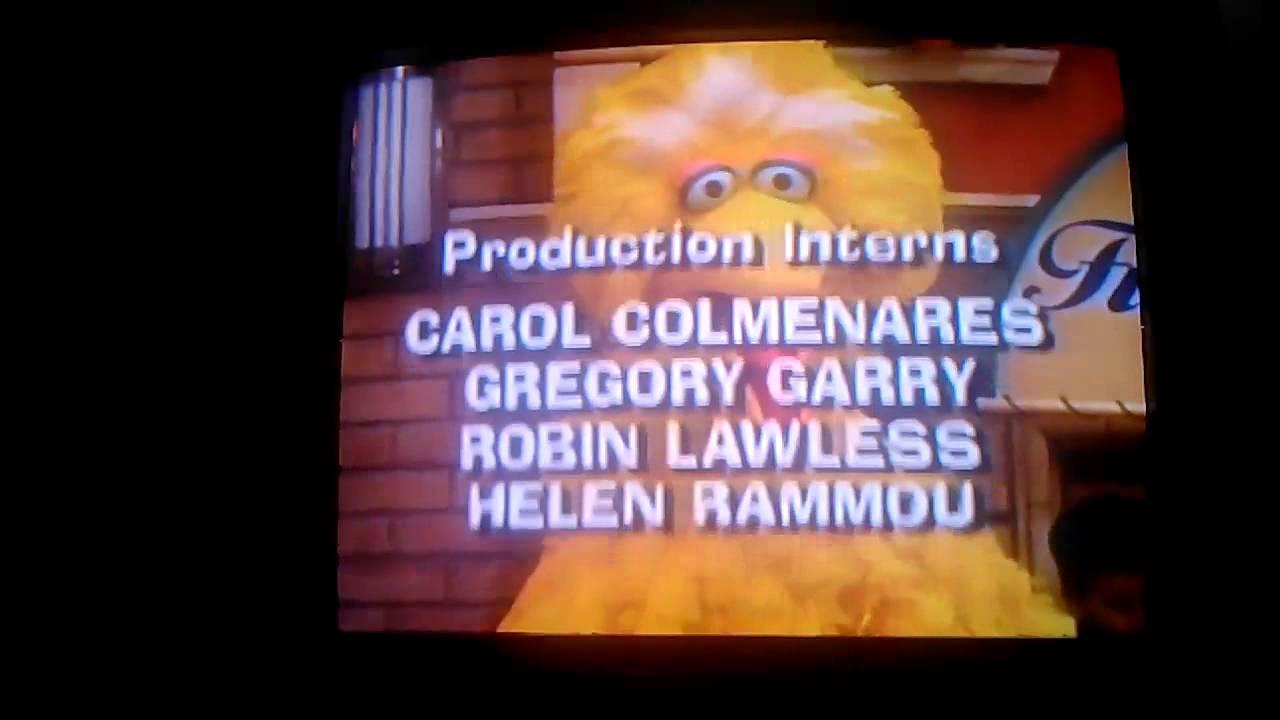 Closing To Sesame Street Do The Alphabet 1996 VHS CTW