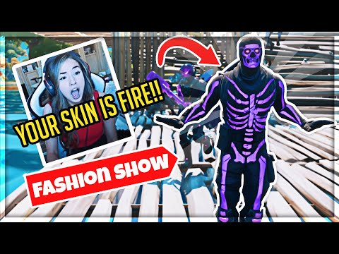 I TRIED STREAM SNIPING FASHION SHOWS WITHOUT LOSING