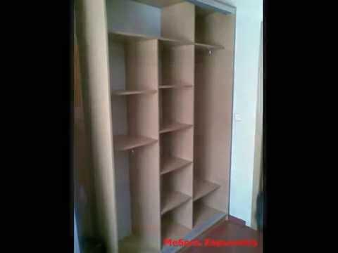 Полка для обуви в шкаф купе Наполнение шкафов - YouTube