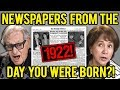 ELDERS REACT TO NEWSPAPERS FROM THE DAY