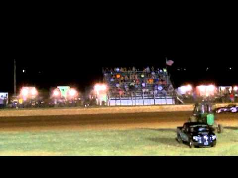 Richard Pece Mini Stock #3 at Lawton Speedway A Feature (Part 3) 8-8-15